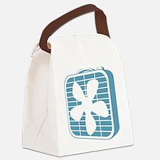 Box Fan Graphic Canvas Lunch Bag