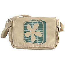 Box Fan Graphic Messenger Bag