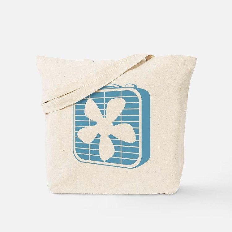 Box Fan Graphic Tote Bag