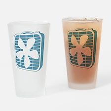Box Fan Graphic Drinking Glass