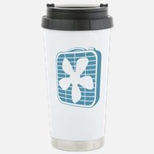 Box Fan Graphic Travel Mug