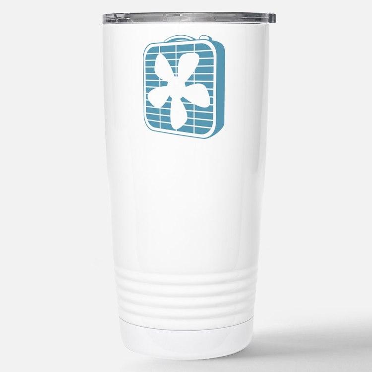 Box Fan Graphic Travel Mug