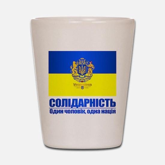 Ukraine (Solidarity) Shot Glass