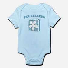 Fan Sleeper Infant Bodysuit