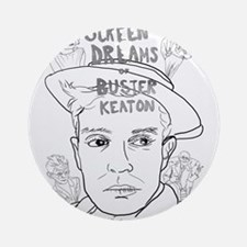 Screen Dreams of Buster Keaton Ornament (Round)
