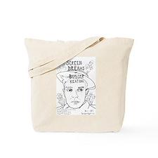 Screen Dreams of Buster Keaton Tote Bag
