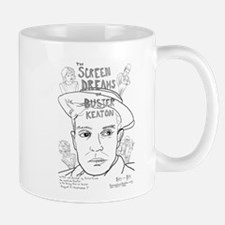 Screen Dreams of Buster Keaton Mugs
