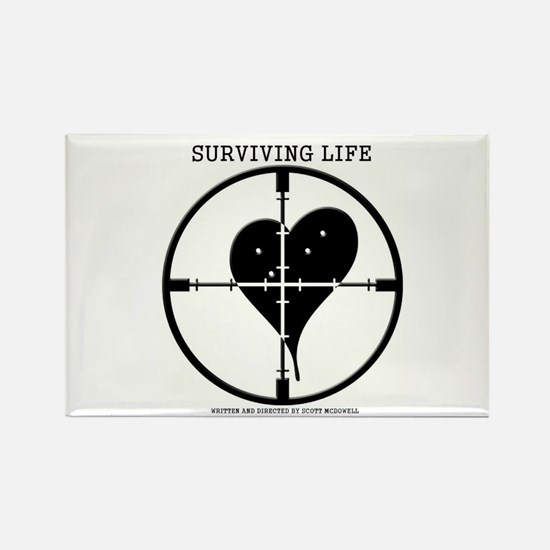Hitman's Guide to Surviving Life Magnets