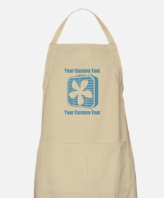 CUSTOM TEXT Fan Apron