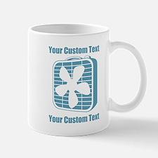 CUSTOM TEXT Fan Mug