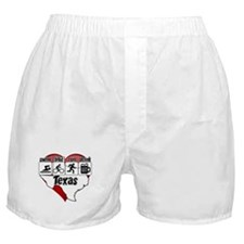 Texas Swim Bike Run Drink Boxer Shorts