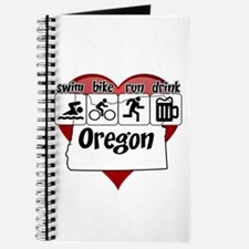 Oregon Swim Bike Run Drink Journal