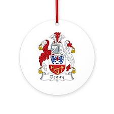 Denny I Ornament (Round)