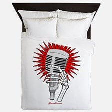 Rockabilly Microphone Queen Duvet