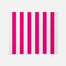 Sassy Hot Pink Throw Blanket