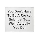 Engineering science Fleece Blankets