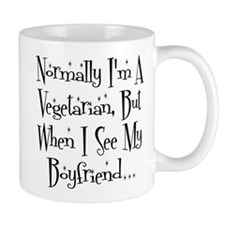 Normally I'm a Vegetarian Mugs