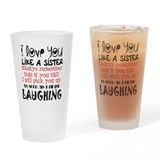 Best friends Pint Glasses