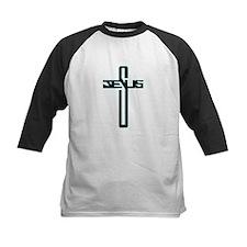 Jesus Name Cross Baseball Jersey