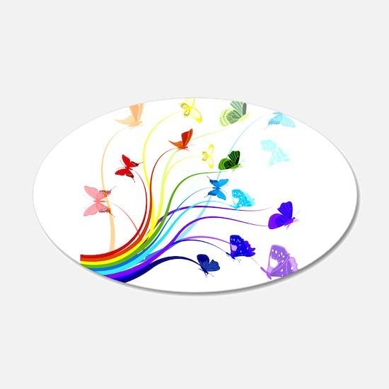 Butterflies Decal Wall Sticker