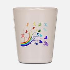 Butterflies Shot Glass