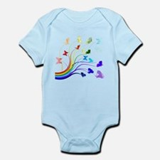 Butterflies Infant Bodysuit