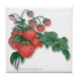 Strawberry Drink Coasters