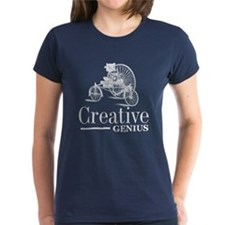 Creative Genius I Women'S Women'S Dark T-Shirt