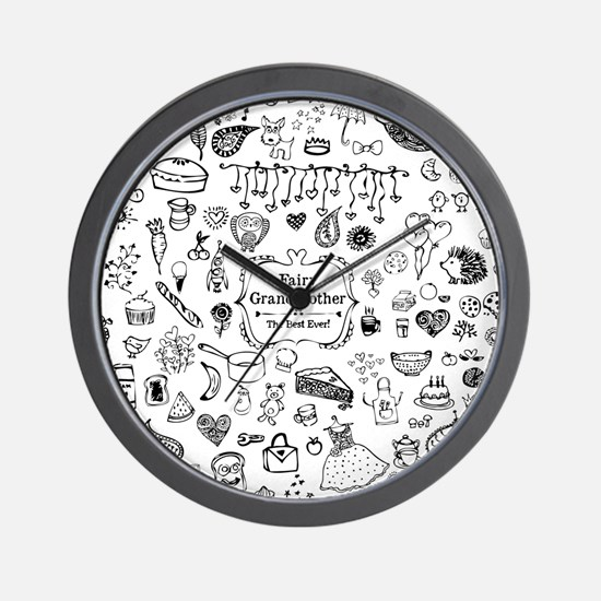 Fairy Grandmother Wall Clock