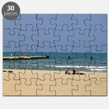 Lazing Around On Beach Puzzle