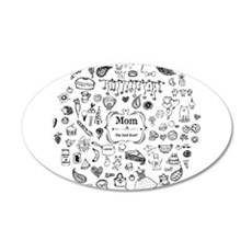 Best Mom in the World Wall Decal