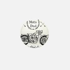 Moto Dad Mini Button