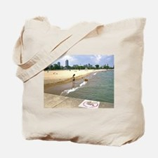 Jump In The Water Tote Bag