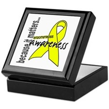 Awareness 1 Endometriosis Keepsake Box