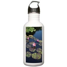 Lily Pad Pond Sports Water Bottle