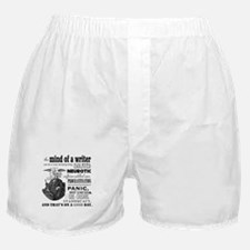 The Mind of a Writer Boxer Shorts