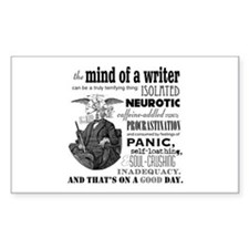 The Mind Of A Writer Decal