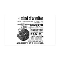 The Mind Of A Writer Wall Decal
