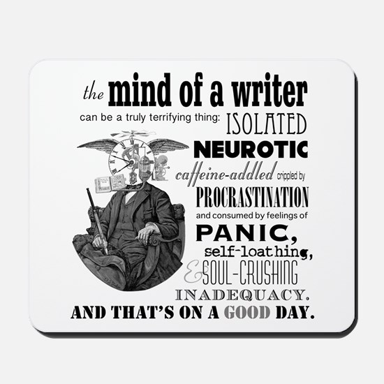 The Mind Of A Writer Mousepad