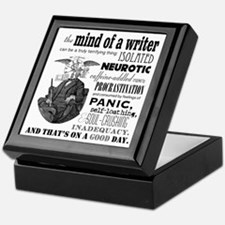The Mind Of A Writer Keepsake Box