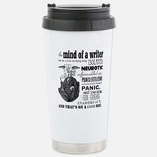 The Mind of a Writer Travel Mug
