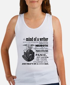 The Mind of a Writer Tank Top