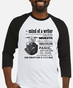 The Mind of a Writer Baseball Jersey
