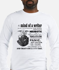 The Mind of a Writer Long Sleeve T-Shirt