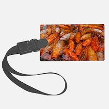 Crazy Koi Fish Luggage Tag