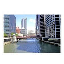 Downtown Chicago Waterscape Postcards (Package of