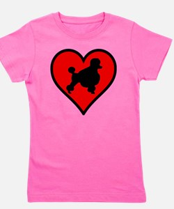 Poodle Lover Girl's Tee