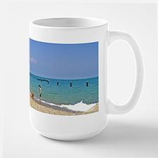 Playing on the Lake Mugs