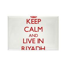 Keep Calm and Live in Riyadh Magnets
