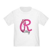 Personalized Monogram Letter R T